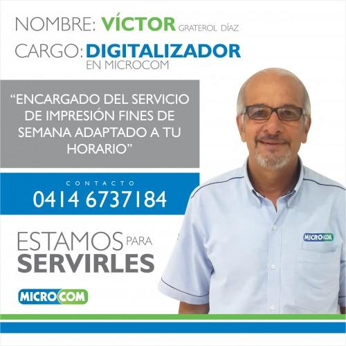 CONOCENOS: Digitalizador Víctor Graterol